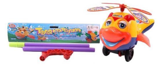 Каталка на палочке 1TOY Р40812 пластик от 3 лет с ручкой разноцветный каталка на палочке s s toys вертолет желтый от 1 года пластик
