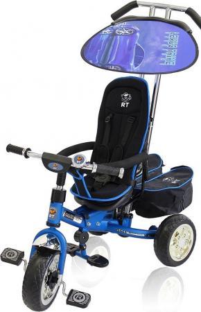 Велосипед трехколёсный Lexus Trike Original RT Next Deluxe с высокой спинкой синий