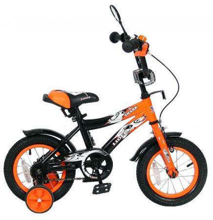 """Велосипед двухколёсный Velolider LIDER SHARK 12"""" 12A-1287OR оранжевый/черный"""