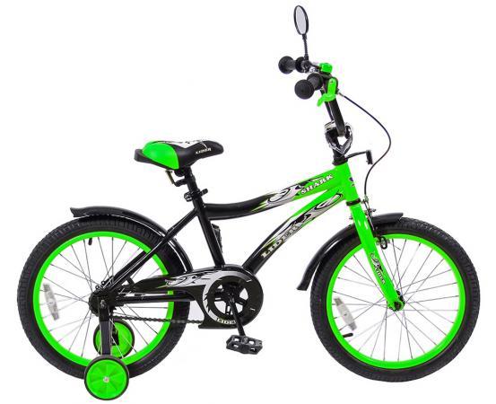"""Велосипед двухколёсный Velolider LIDER SHARK 18"""" зеленый 18A-1887GN"""