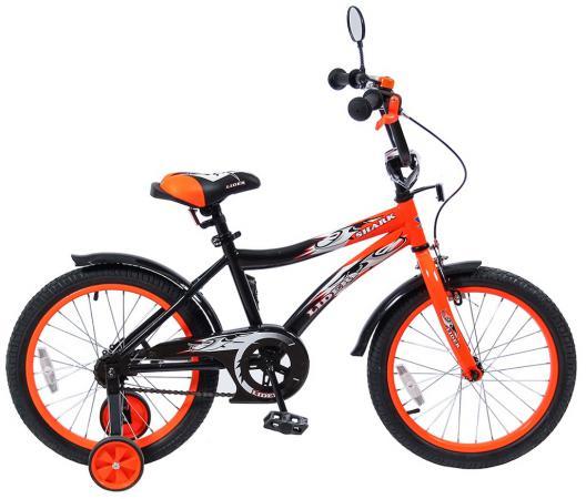 """Велосипед двухколёсный Velolider LIDER SHARK 18"""" 18A-1887OR оранжевый/черный"""