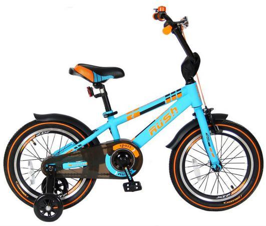 "Велосипед двухколёсный Velolider RUSH SPORT 16"" бирюзовый R16B"