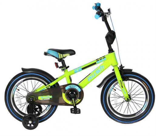 Велосипед двухколёсный Velolider RUSH SPORT 16 зеленый R16G велосипед geuther велосипед my runner серо зеленый