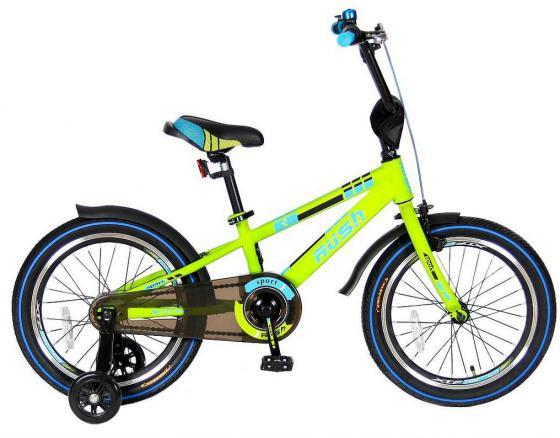 "Велосипед двухколёсный Velolider RUSH SPORT 18"" зеленый R18G"