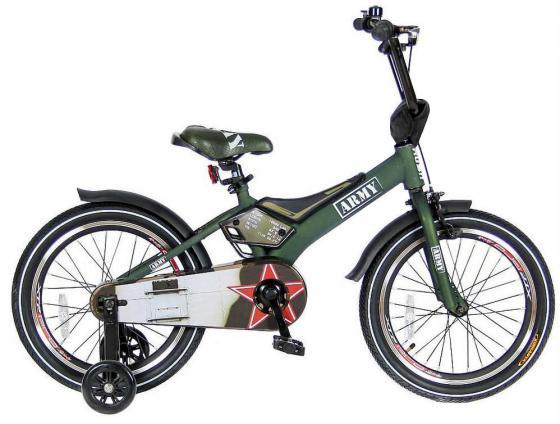 Велосипед двухколёсный Velolider RUSH ARMY 18 RA18 хаки velolider велосипед двухколесный rush army 16