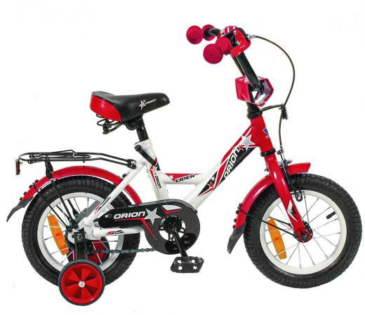 "Велосипед двухколёсный Velolider LIDER ORION 12"" VO12BK белый/красный"
