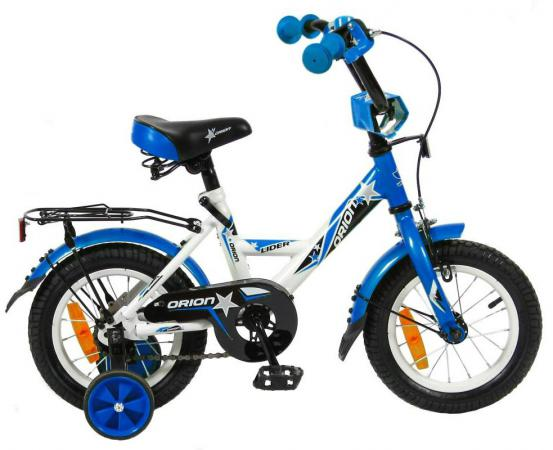 "Велосипед двухколёсный Velolider LIDER ORION 12"" VO12BS белый/синий"