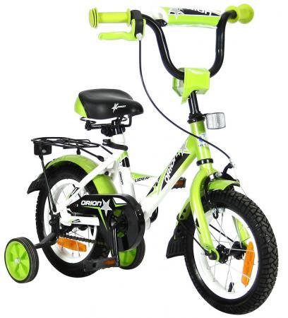 Велосипед двухколёсный Velolider LIDER ORION 12 VO12BZ белый/зеленый