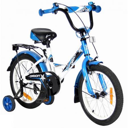 "Велосипед двухколёсный Velolider LIDER ORION 16"" VO16BS белый/синий"