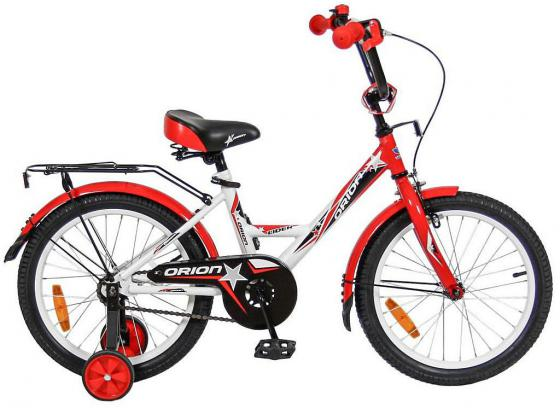 "Велосипед двухколёсный Velolider LIDER ORION 18"" VO18BK белый/красный"