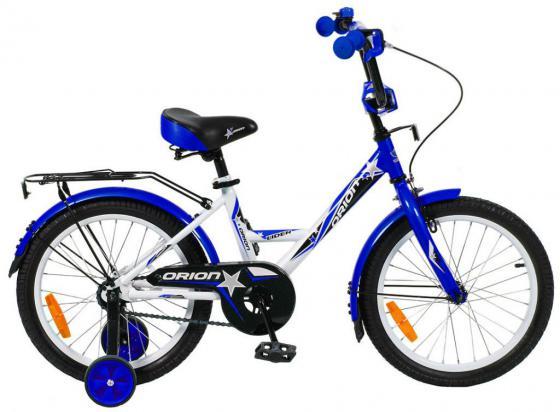 "Велосипед двухколёсный Velolider LIDER ORION 18"" VO18BS белый/синий"