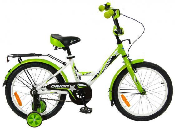 """Велосипед двухколёсный Velolider LIDER ORION 18"""" VO18BZ белый/зеленый"""