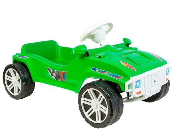 Машина Rich Toys с педальным приводом RACE MAXI Formula 1 цв.зеленый ОР792 newest design 1 12 formula rc drift car remote control steering wheel toys for children