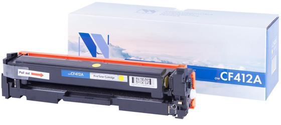 Картридж NV-Print CF412A для HP Jet Pro M477fdn/M477fdw/M477fnw/M452dn/M452nw желтый 2300 стр картридж nv print cf413a magenta для hp laserjet color pro m377dw m452nw m452dn m477fdn m477fdw m477fnw