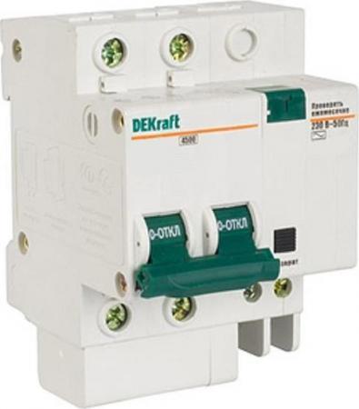 Выключатель дифференциального тока Schneider Electric 2П 10A 30мА AC 15002DEK выключатель дифференциального тока schneider electric вд63 2п 40a 30ма 11452