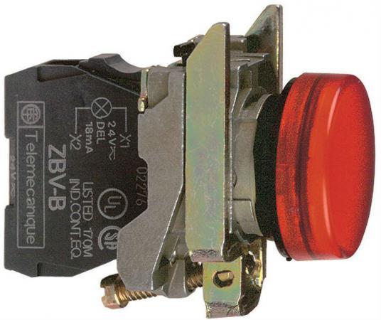 Лампа сигнальная Schneider Electric 22мм 24В красный XB4BVB4 батария schneider electric 24 v 54446