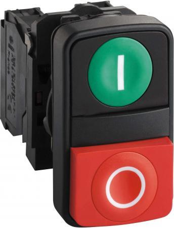 Кнопка Schneider Electric 22мм двойная с маркировкой XB5AL73415 кнопка schneider electric xb5aa21 черный