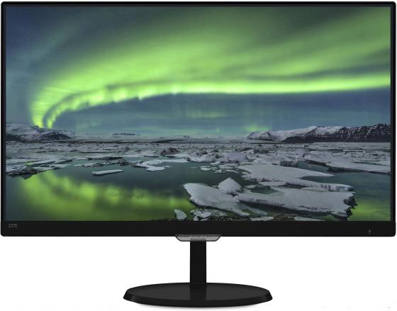 Монитор 23 Philips 237E7QDSB00/01 черный AH-IPS 1920x1080 250 cd/m^2 5 ms DVI HDMI VGA Аудио romanson часы romanson tm8154cxj wh коллекция adel
