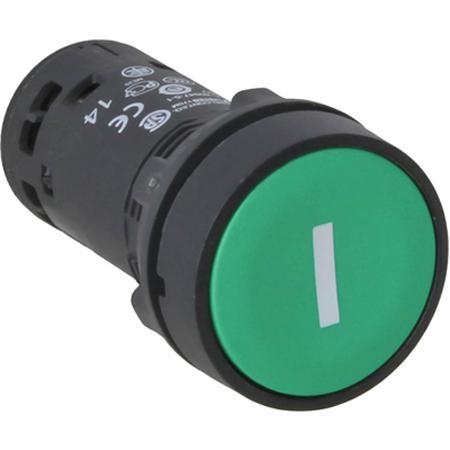 Кнопка Schneider Electric 22мм с возвратом зеленый XB7NA3131 кнопка schneider electric xb5aa21 черный
