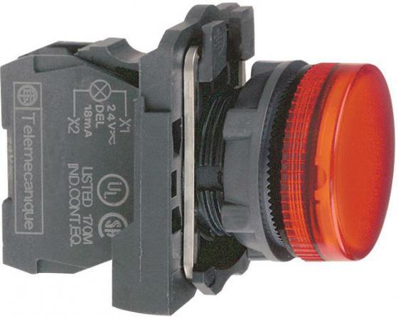 Лампа сигнальная Schneider Electric 22мм 24В красный XB5AVB4
