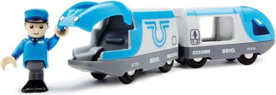 Поезд Brio Экспресс с машинистом с 3-х лет brio самолетик с трапом