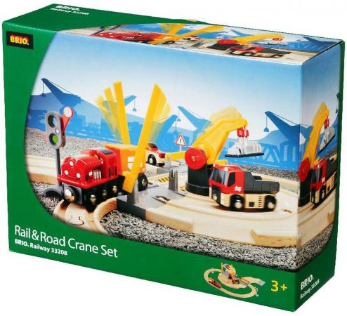 Железная дорога Brio Переезд  33208 brio поезд 33595