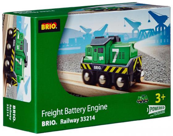 Локомотив Brio 33214 погрузчик с вращением с магнитом блист brio