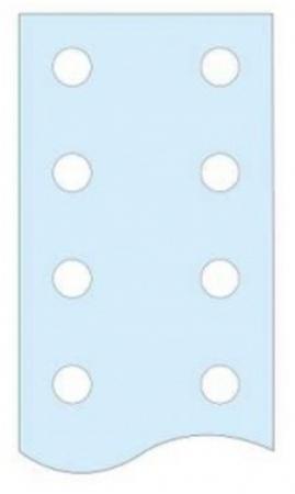 Шина Schneider Electric перфорированная 50х5мм 04515