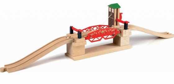 Мост Brio Разводной с 3-х лет погрузчик с вращением с магнитом блист brio