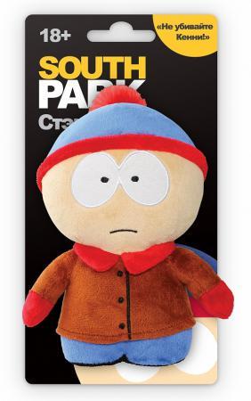 Мягкая игрушка 1TOY Южный парк: Стэн с чипом 12 см разноцветный текстиль Т57485 мягкая игрушка южный парк с чипом стэн