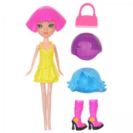 Красотка фэшн кукла с аксессуарамиТ57129 1toy кукла красотка фэшн с одеждой цвет платья оранжевый