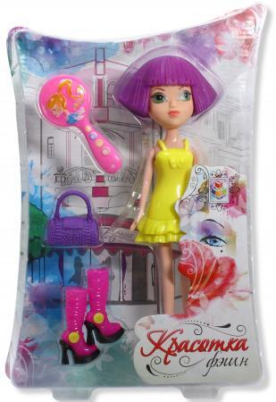 Красотка фэшн кукла с аксессуарами Т57130 1toy кукла красотка фэшн с одеждой цвет платья оранжевый
