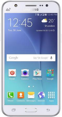 Смартфон Samsung Galaxy J5 2016 белый 5.2 16 Гб LTE Wi-Fi GPS 3G SM-J510FZWUSER смартфон samsung galaxy j3 2016 белый 5 8 гб lte wi fi gps 3g duos sm j320fzwdser