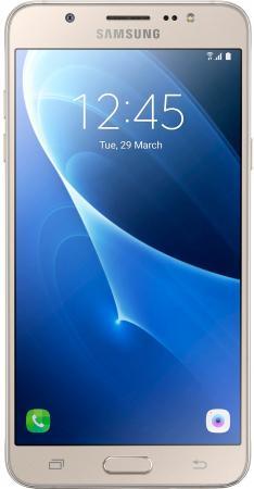Смартфон Samsung Galaxy J7 2016 золотистый 5.5 16 Гб LTE Wi-Fi GPS NFC SM-J710FZDUSER смартфон samsung galaxy j7 2016 sm j710fn gold