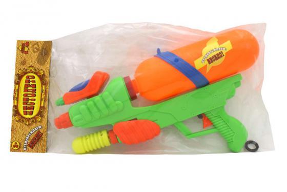 Водный пистолет Тилибом с двумя отверстиями для мальчика T80458 тилибом водный т80451