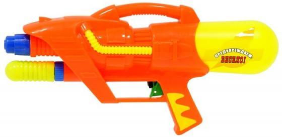 Водный пистолет Тилибом с помпой для мальчика оранжевый