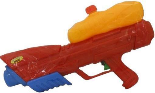 Водный пистолет Тилибом с помпой 45см для мальчика красный