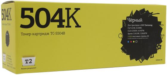Картридж T2 CLT-K504S для Samsung CLP-415/CLX-4195/Xpress C1810W черный 2500стр картридж samsung clt c504s для samsung clp 415 clx 4195 голубой