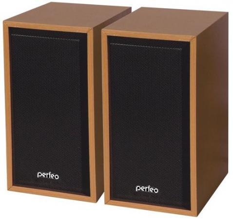 Колонки Perfeo Cabinet PF-84-WD 2x3 Вт USB бук колонки cbr cms 660 2x3 вт черный
