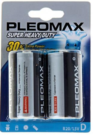 Батарейки Samsung Pleomax D 2 шт R20-2BL батарейки samsung pleomax lr6 2bl 2 шт aa