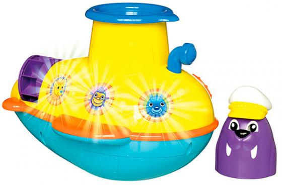 Заводная игрушка для ванны Tomy Подводная Лодка ТО72222 заводная игрушка для ванны бобер серфингист звук