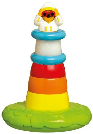 Игрушка для купания для ванны Tomy Пирамидка-Маяк 28 см игрушка для купания для ванны tomy крокодил на водных лыжах