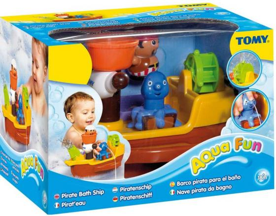 Игровой набор для ванны Tomy Пиратский корабль tomy tomy игрушка для ванны щенок на лодке