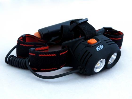 Фонарь налобный Solaris M40 чёрный vivanco кабель usb 2 0 а mini usb black 3 м