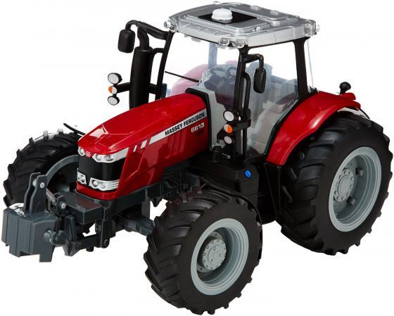 Трактор Tomy John Deere - Massey Ferguson 6613 красный Т043078 машины tomy john deere трактор monster treads с большими колесами и вибрацией