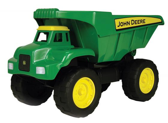 Самосвал Tomy John Deere большегрузный 41 см зеленый 42928 машины tomy трактор john deere monster treads с большими резиновыми колесами