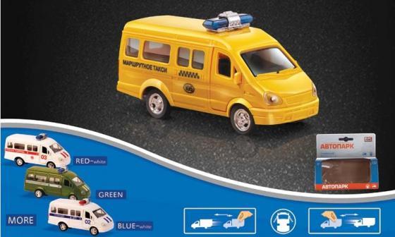 Фото - Микроавтобус Play Smart инерционный Р41114 конструктор nd play автомобильный парк 265 608