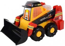 Гусеничный трактор Zhorya Сила техники 30 см желтый Х76243 zhorya гусеничный трактор сила техники х76181