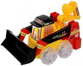 Гусеничный трактор Zhorya Сила техники 30 см желтый Х76180 zhorya гусеничный трактор сила техники х76181