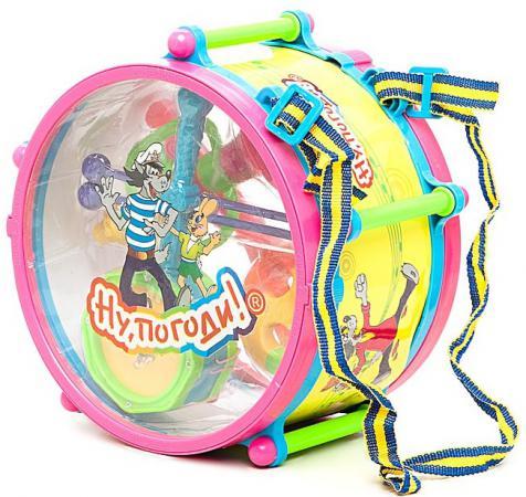 Набор музыкальных инструментов 1Toy Ну, Погоди! Т52250 развивающая игрушка 1toy ну погоди 1toy ну погоди музыкальные инструменты в барабане